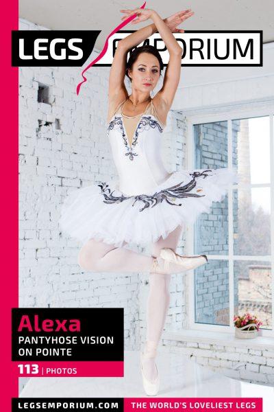 Alexa - Pantyhose Vision on Pointe COVER