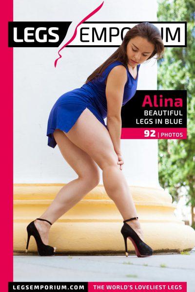 Alina - Beautiful Legs in Blue_COVER