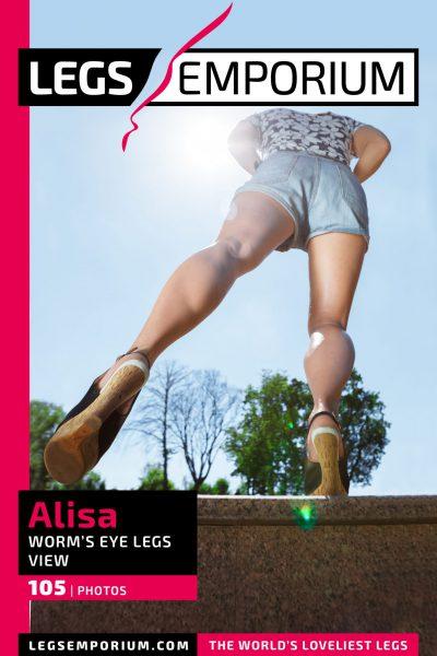 Alisa - Worms Eye Legs View_COVER