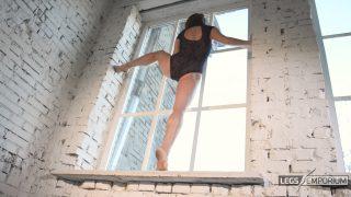 Anastasia - Sculpted Ballerina Calves Flexed in Window 3_3