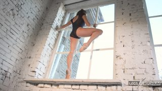 Anastasia - Sculpted Ballerina Calves Flexed in Window 3_5