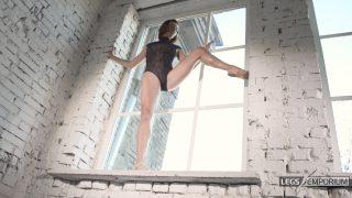 Anastasia - Sculpted Ballerina Calves Flexed in Window 5_5