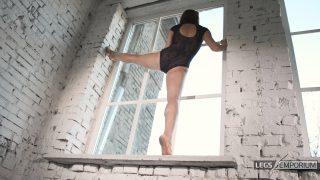 Anastasia - Sculpted Ballerina Calves Flexed in Window 6_5