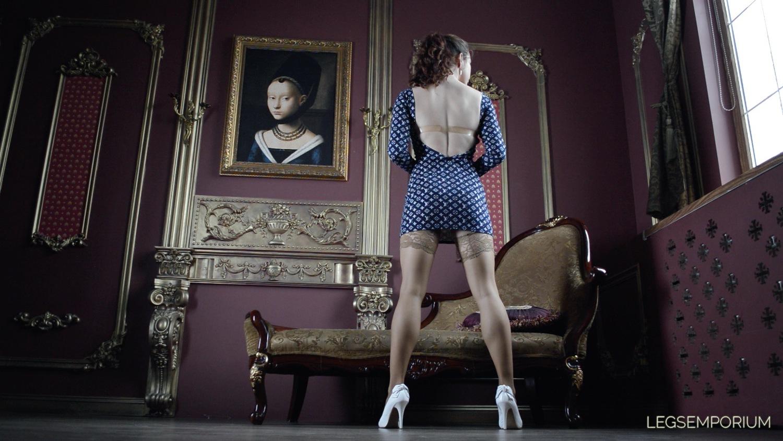 Nylon legs video-5197