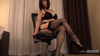 Andrea Gaicomi - Stockings Covered Leg Crosses 1_1