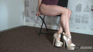 Bobbie Stone - Legs Crossed Calves Muscles 1_4