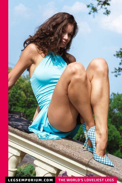 Elena - Sun Soaked Legs Goddess b-COVER