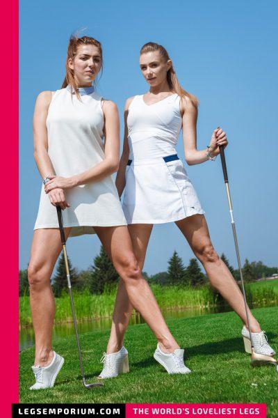 Heather & Liza - 4 Legs in One b-COVER