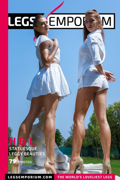 Heather & Liza - Statuesque Leggy Beauties COVER