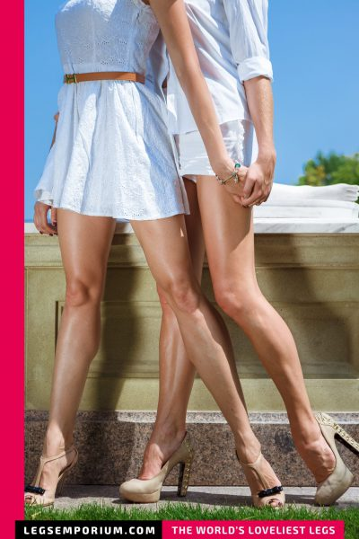 Heather & Liza - Statuesque Leggy Beauties b-COVER