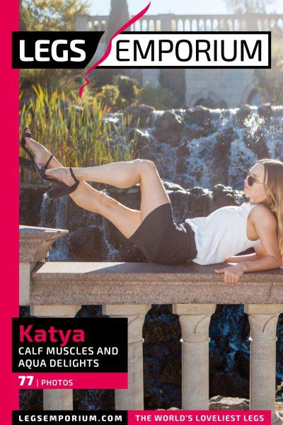 Katya - Calf Muscles and Aqua Delights_COVER