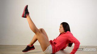 Lolita - Fit Legs in Sneakers and Hoodie 4_4