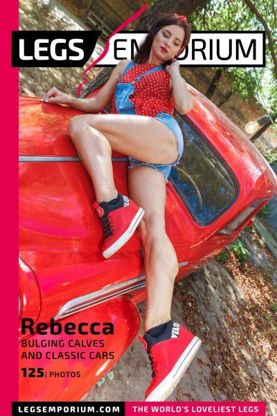 Rebecca - Bulging Calves and Classic Cars 2 COVER