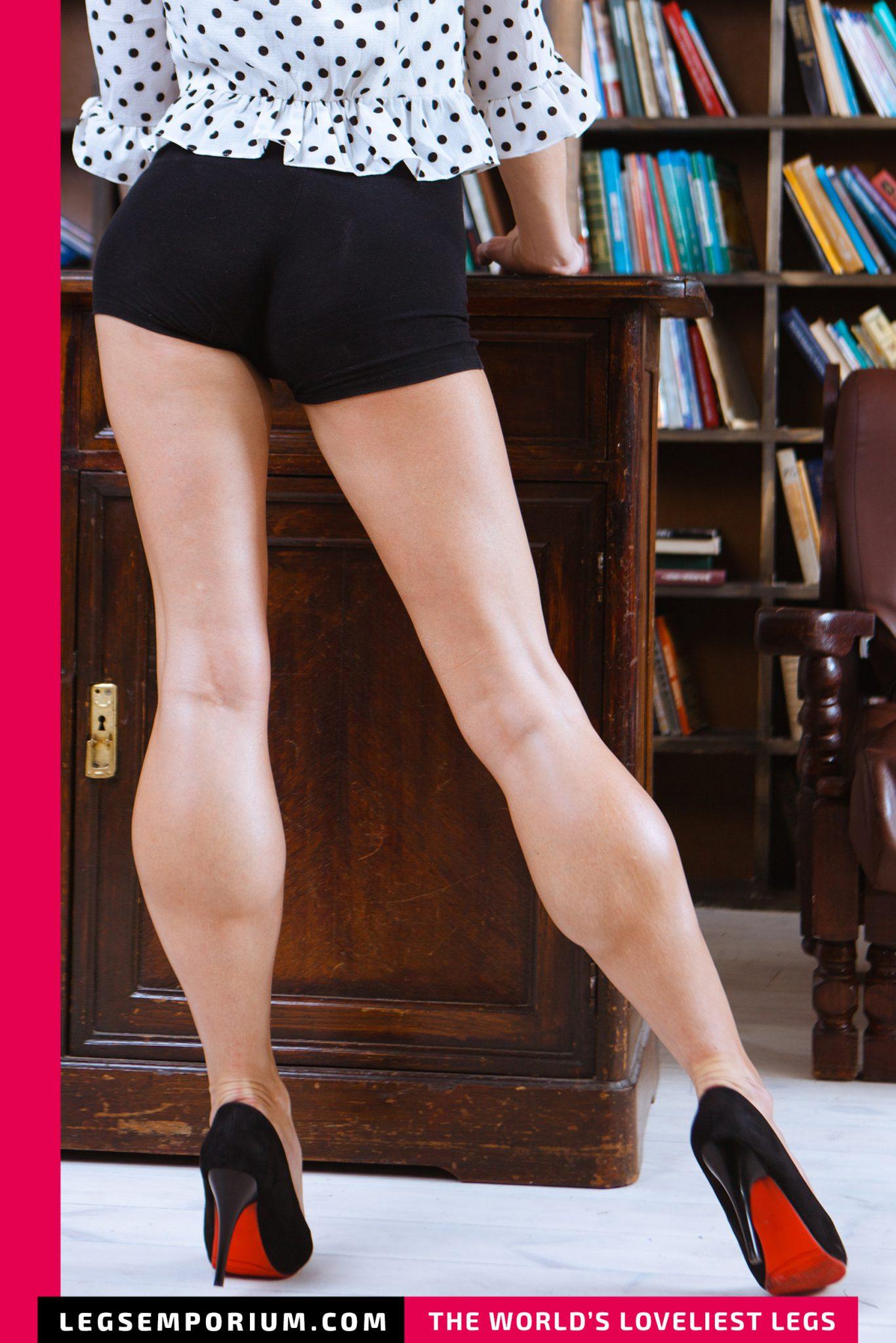 Rebecca - Leggy Librarian – Legs Emporium