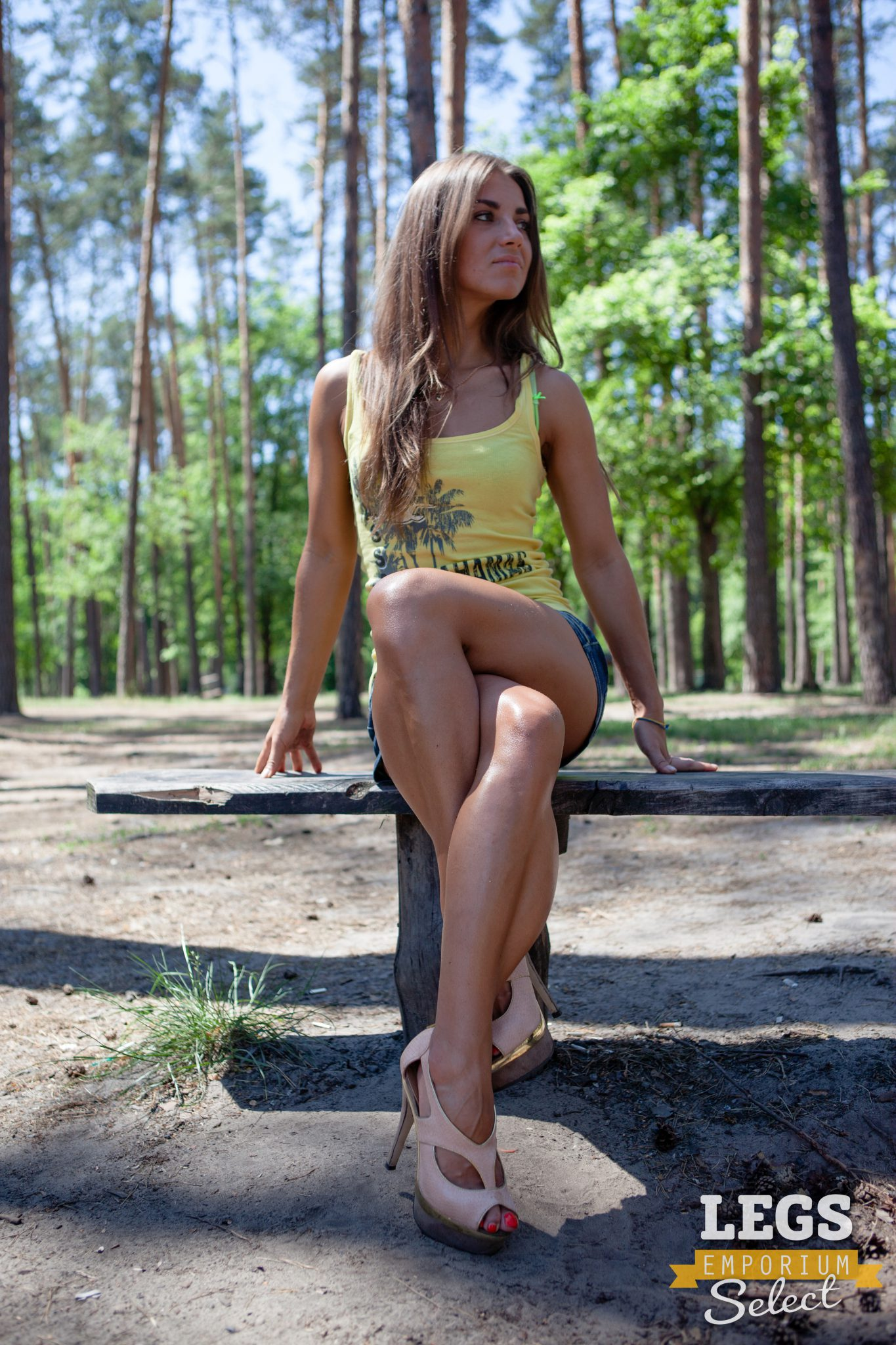 Sofia - Forest Sexy Calf Lover  Legs Emporium-8076
