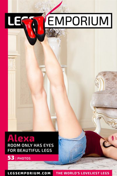 Alexa - Room Only has Eyes for Beautiful Legs COVER