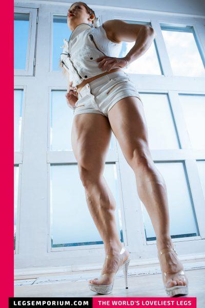 Alexandra R - White on White Legs Delight b-COVER
