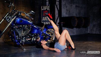 Alexa - Bad-Ass Biker Babe Legs 3_2