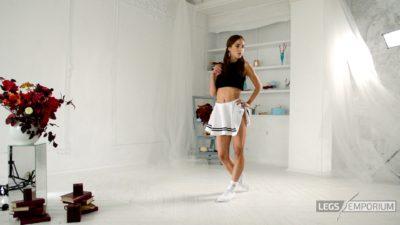 Candice - Mini-Skirt and Beautiful Legs HD_1