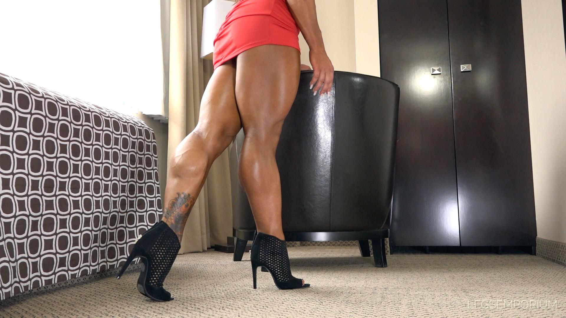 Akane Nigro - Muscular Legs Movements Of Dreams 1  Legs -9867