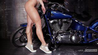 Alena Chumakova-Motorcycle and Muscular Babe 1_0