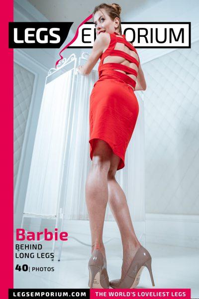 Barbie - Behind Long Legs COVER
