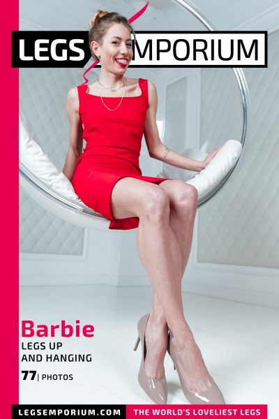 Barbie - Legs Up and Hanging COVER