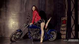 ELENA - Biker Chick with Hot Legs 2_5