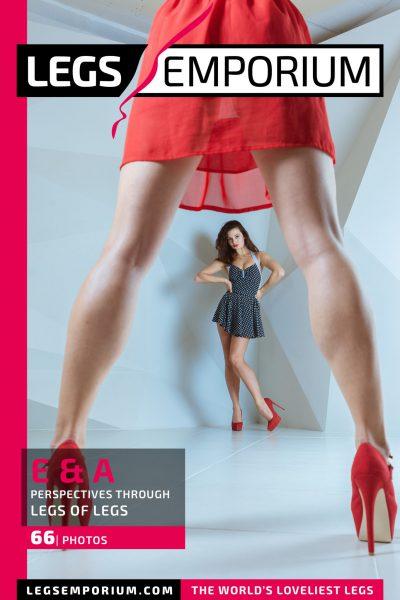 Elena & Anastasia - Perspectives Through Legs of Legs COVER