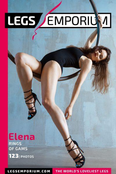 Elena - Rings of Gams COVER