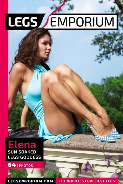 Elena - Sun Soaked Legs Goddess COVER