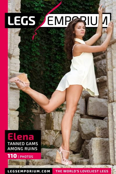 Elena - Tanned Gams Among Ruins COVER