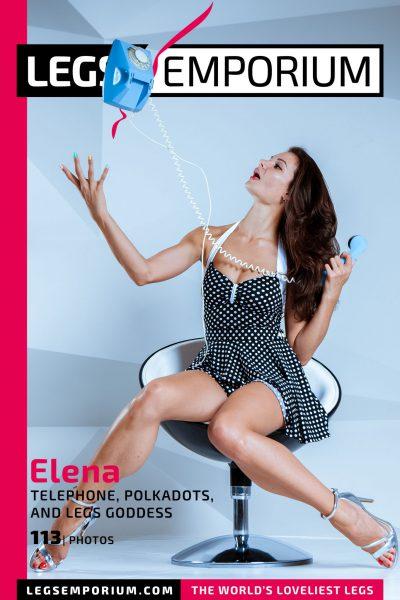 Elena - Telephone, Polkadots, and Legs Goddess COVER