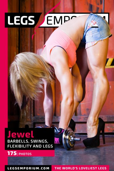 Jewel - Barbells, Swings, Flexibility and Legs COVER