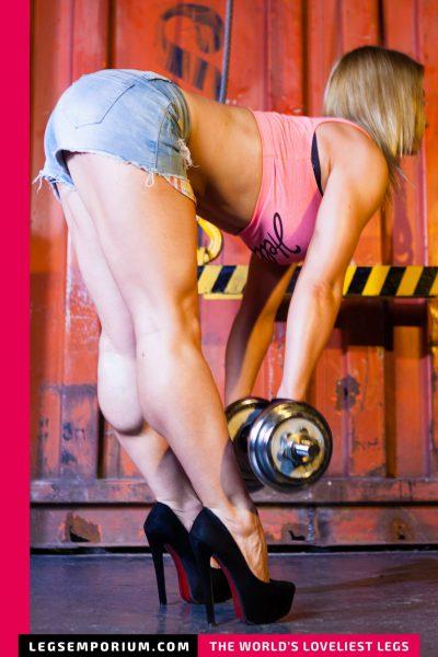 Jewel - Barbells, Swings, Flexibility and Legs b-COVER