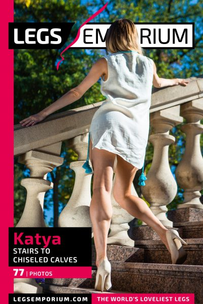 Katya - Stairs to Chiseled Calves_COVER
