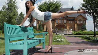 Liza - Bench Stretch and Long Legs_3