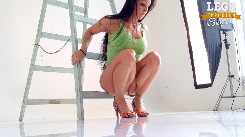 Nikolett Kiralyvari - Thick Thighs, Large Calves 1 – Legs ...