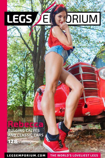 Rebecca - Bulging Calves and Classic Cars 1 COVER