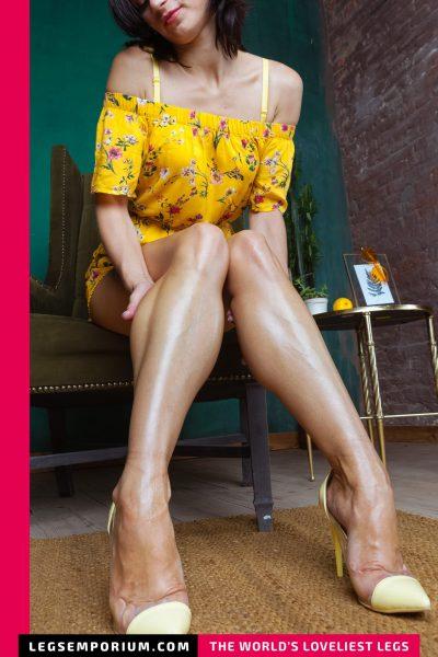 Rebecca - Vibrantly Beautiful Legs b-COVER