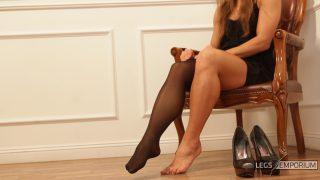 Sofia - Evening Dress, Phat Calves, and Stockings 1_5