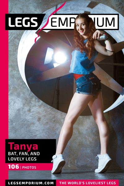 Tanya - Bat, Fan, and Lovely Legs_COVER