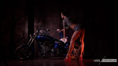 Kaylee 3 - Motorcycle Pin Up Doll 1_0