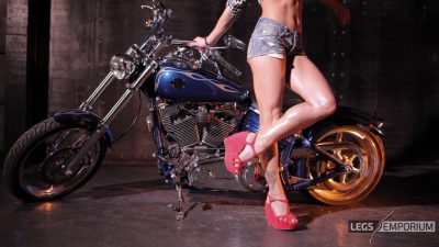 Kaylee - Motorcycle Pin Up Doll 1_2