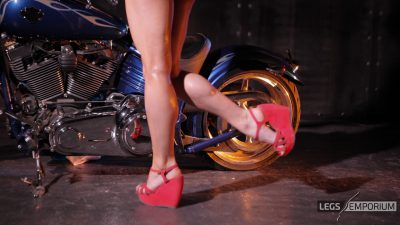 Kaylee - Motorcycle Pin Up Doll 1_6