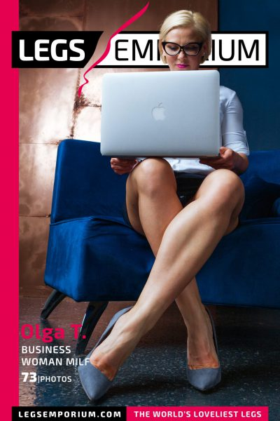 Olga T. - Business Woman Milf COVER