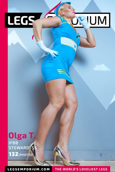 Olga T. - IFBB Stewardess COVER