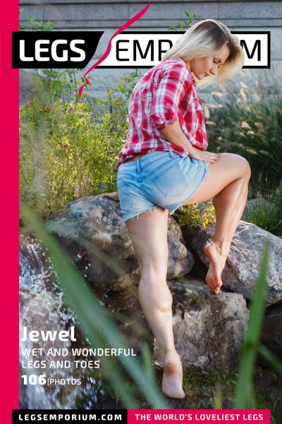 Jewel - Wet and Wonderful Legs and Toes COVER