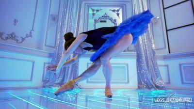 Nastya - Blue Tutu and Legs Ballet 1 - 4K_4