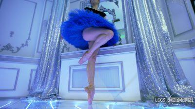 Nastya - Blue Tutu and Legs Ballet 2- 4K_1